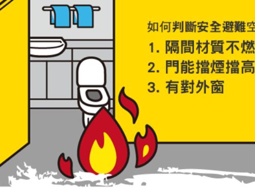 什麼!?發生火災時,不可以跑到廁所避難?